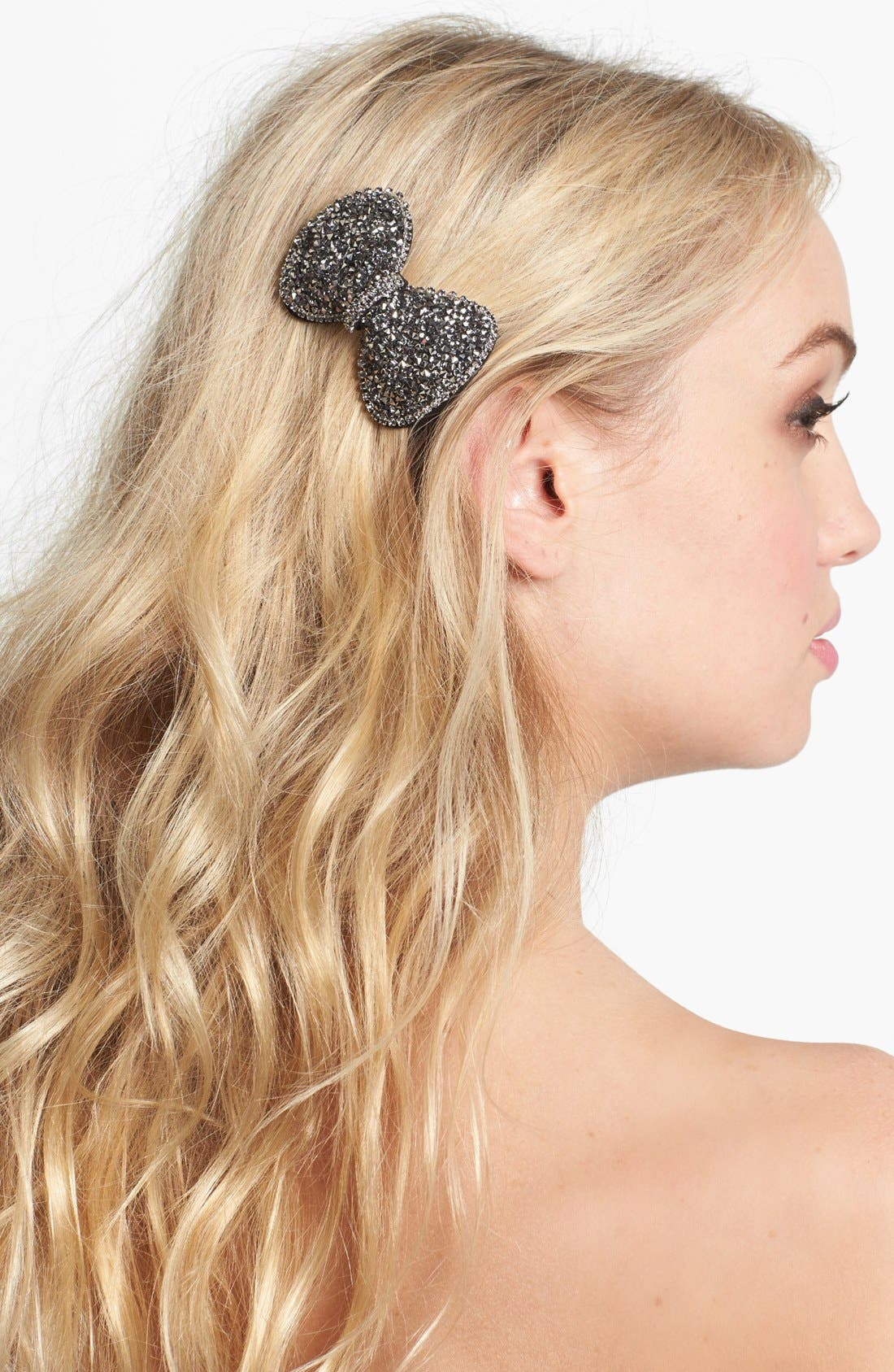 Alternate Image 1 Selected - Tasha 'Crystal Sand' Bow Clip