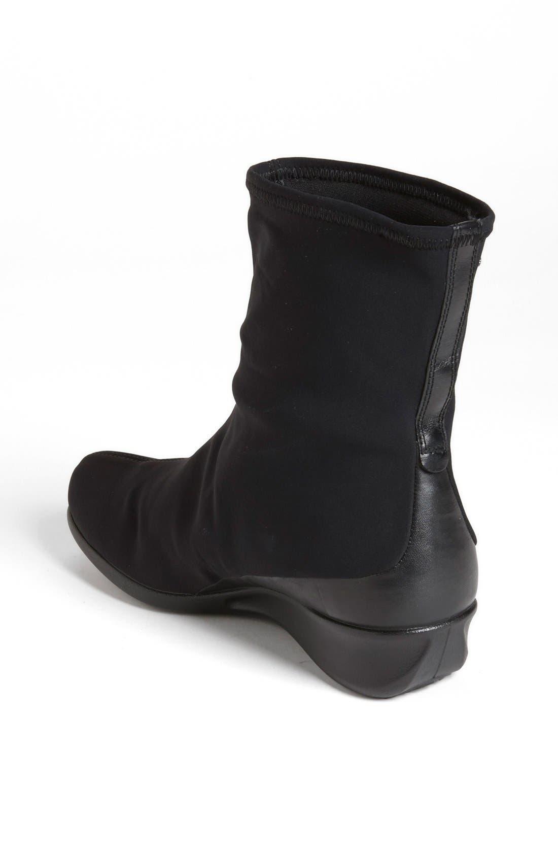 'Abelone' Boot,                             Alternate thumbnail 2, color,                             Black
