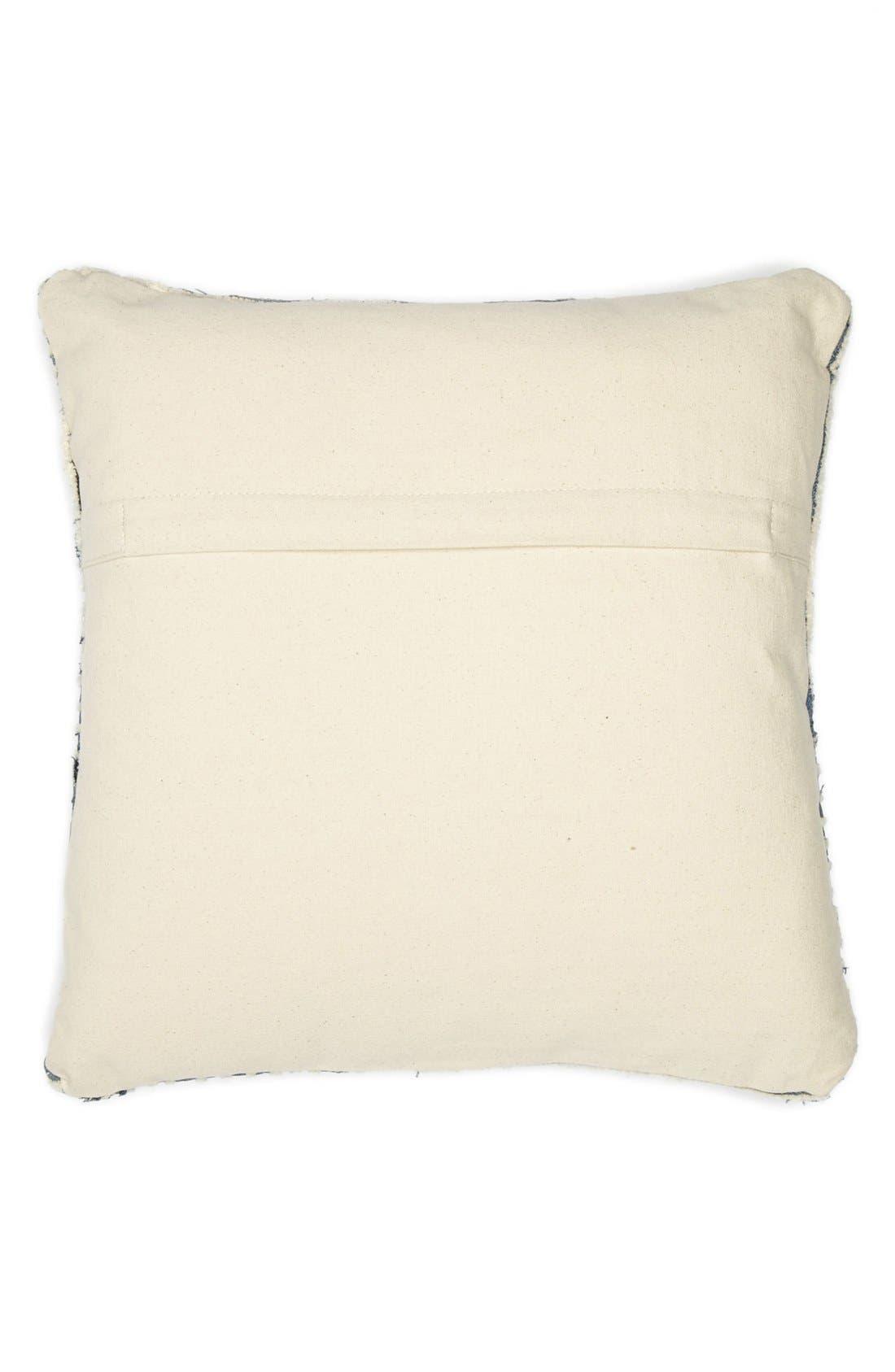Alternate Image 2  - Mina Victory Denim Stripe Pillow