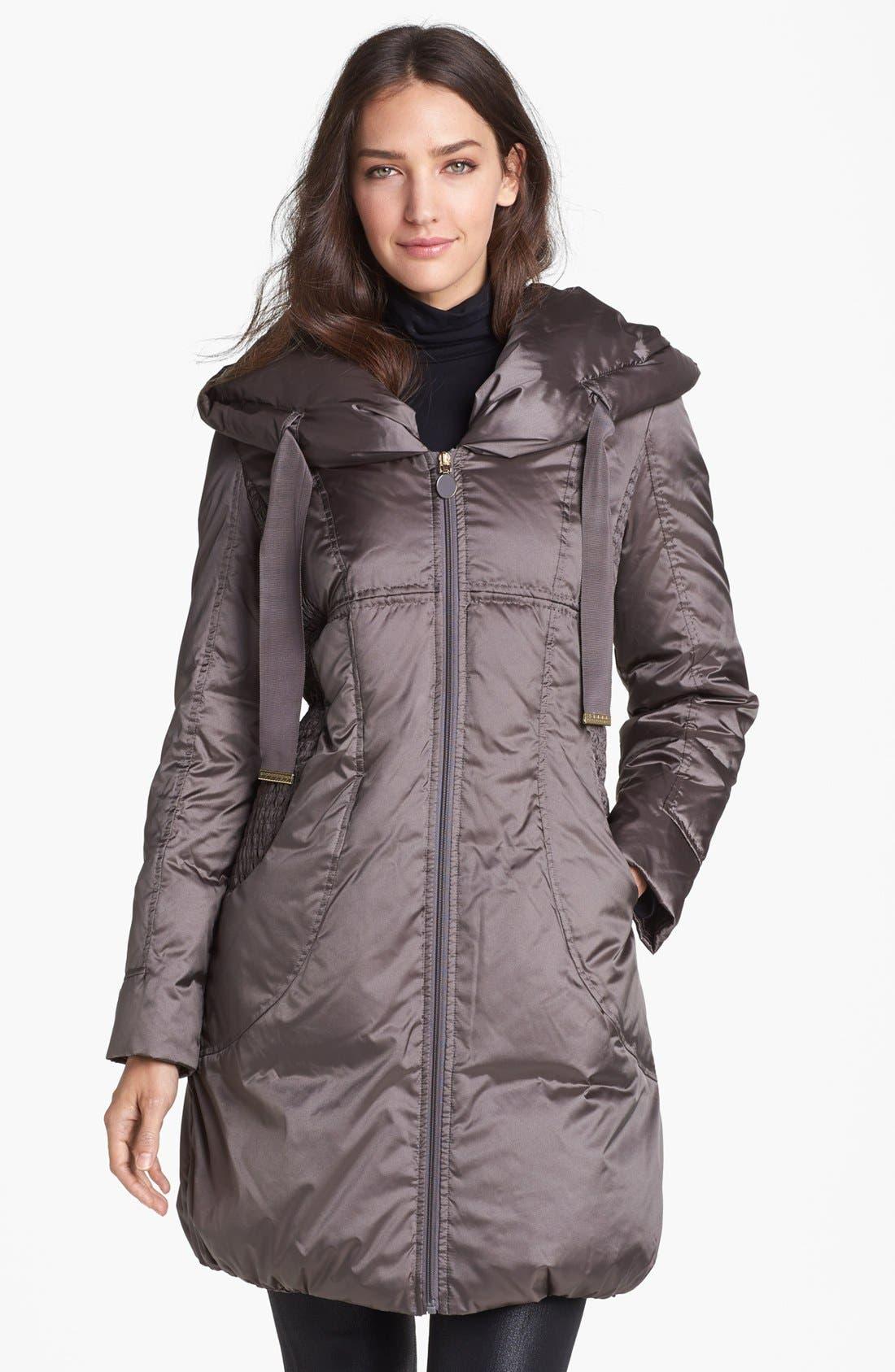 Alternate Image 1 Selected - T Tahari 'Taryn' Pillow Hood Down Coat (Nordstrom Exclusive)