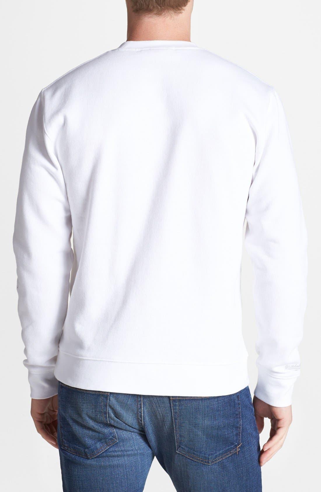 Alternate Image 2  - Mitchell & Ness 'Brooklyn Nets' Sweatshirt