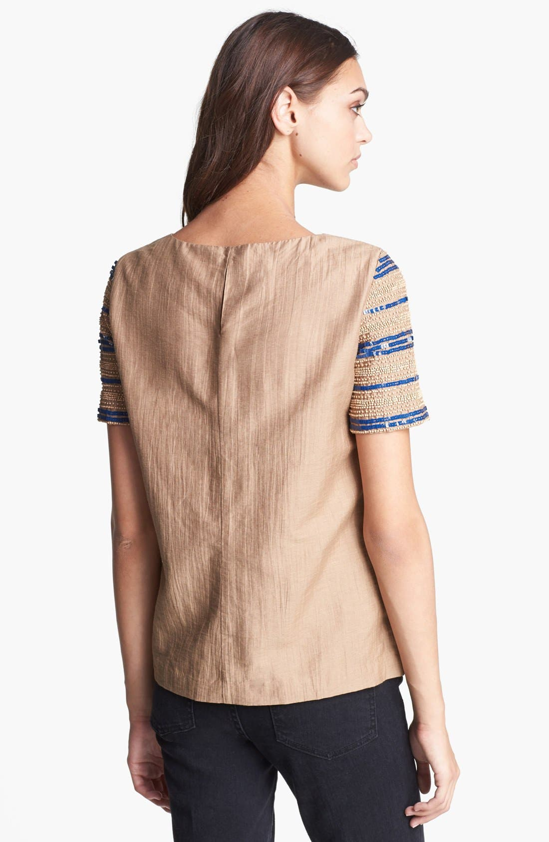 Alternate Image 2  - Tory Burch 'Theresa' Embellished Top