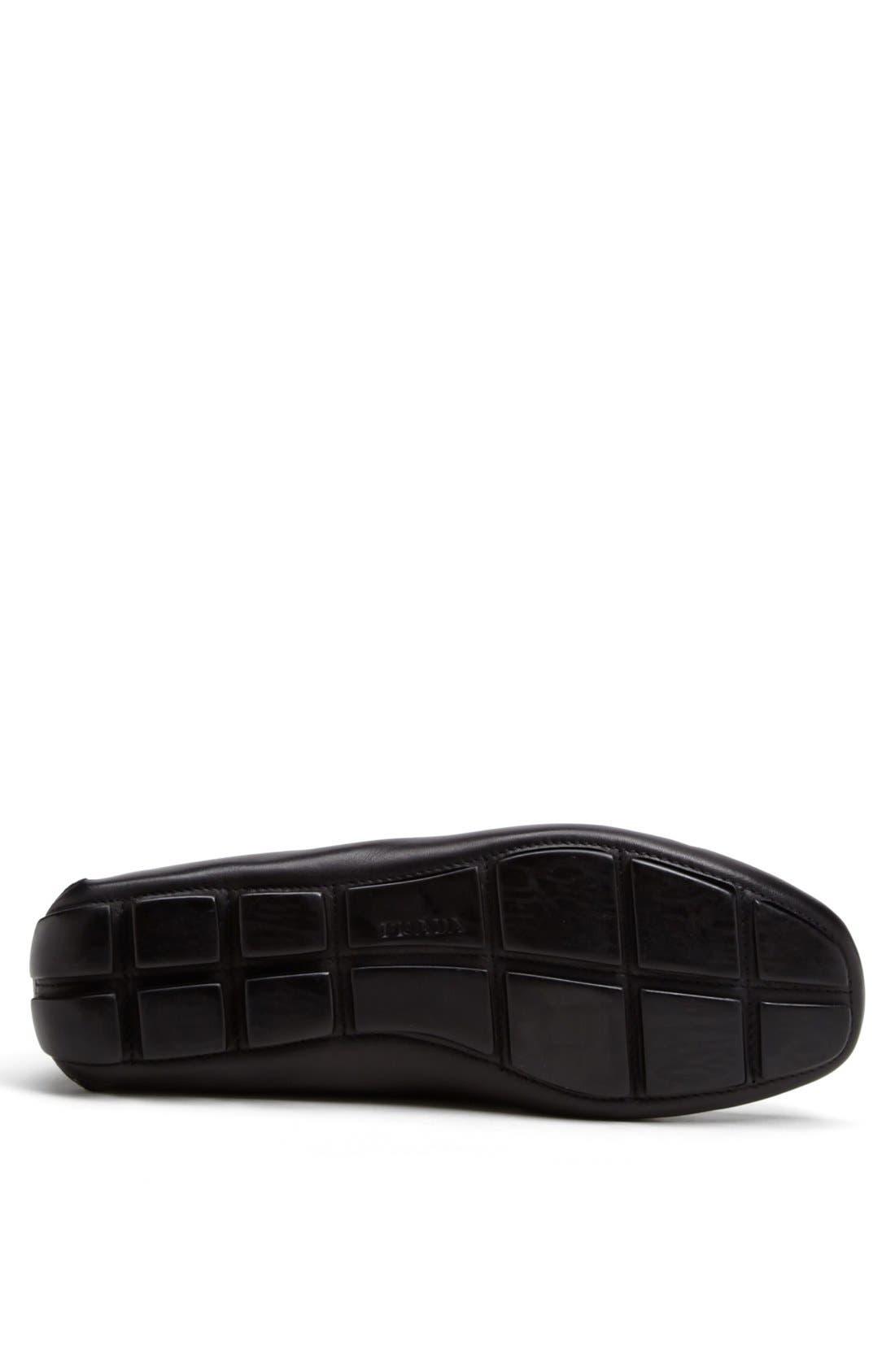 Alternate Image 4  - Prada Logo Bit Driving Shoe (Men)