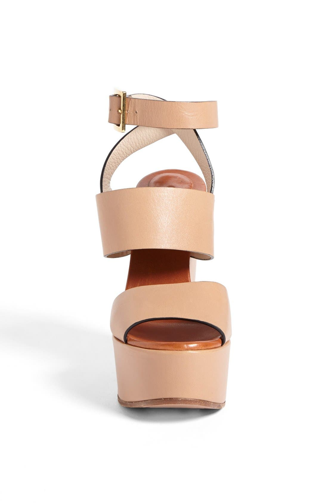 Alternate Image 3  - Chloé 'Central' Wedge Sandal