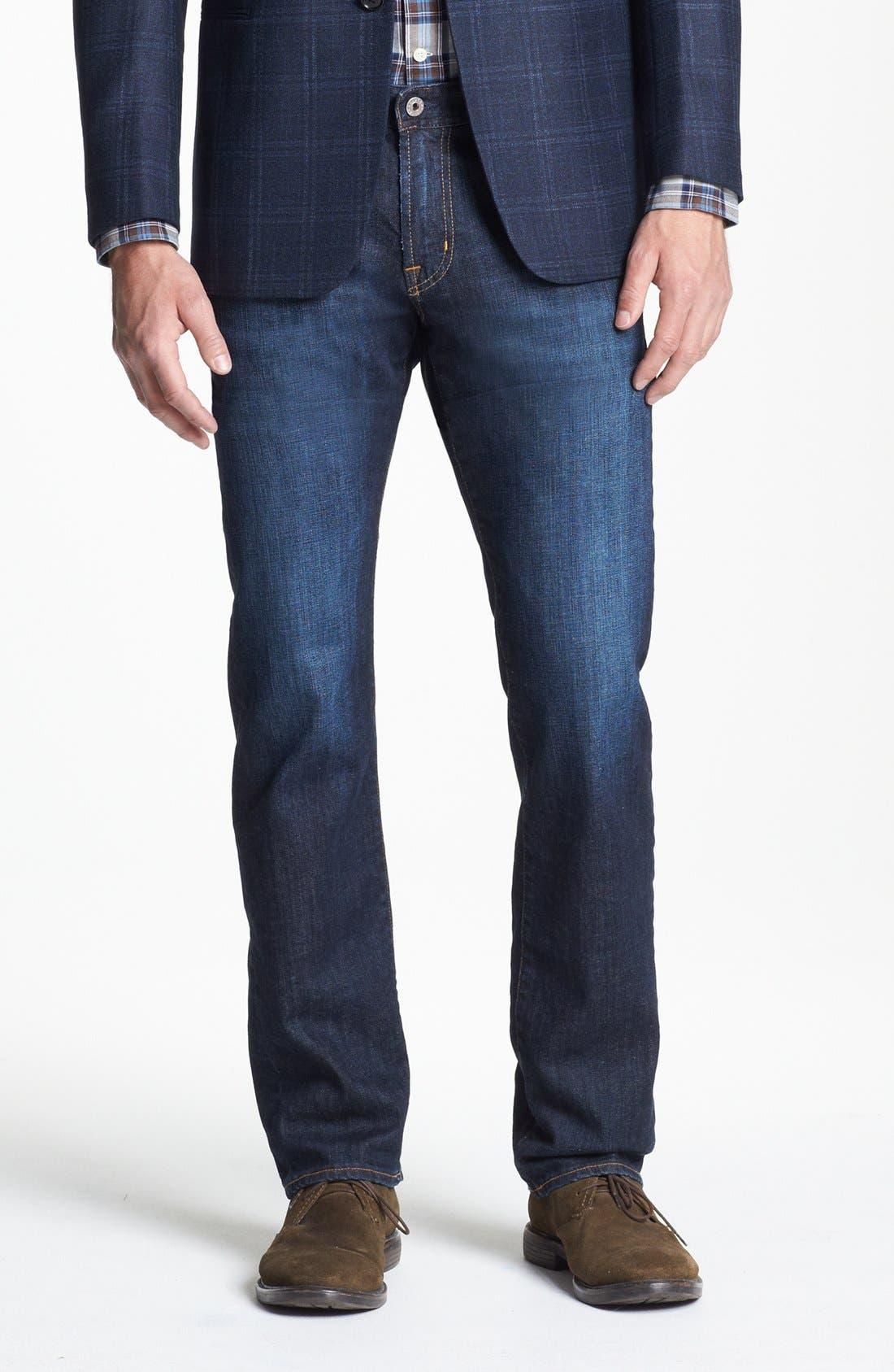 Main Image - AG Graduate Slim Straight Leg Jeans (Robinson)