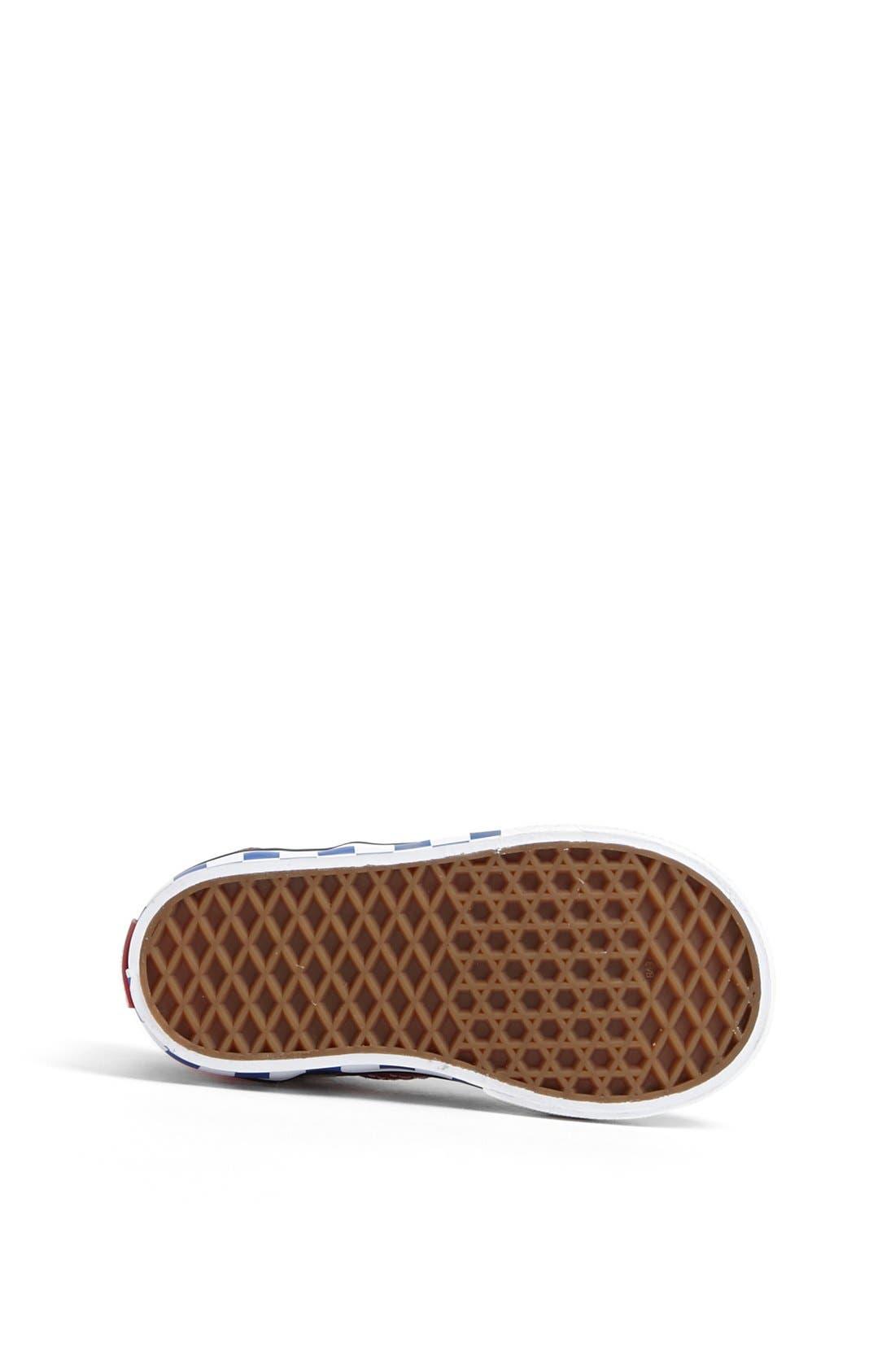 Alternate Image 4  - Vans 'Era - Checkerboard' Sneaker (Baby, Walker & Toddler)