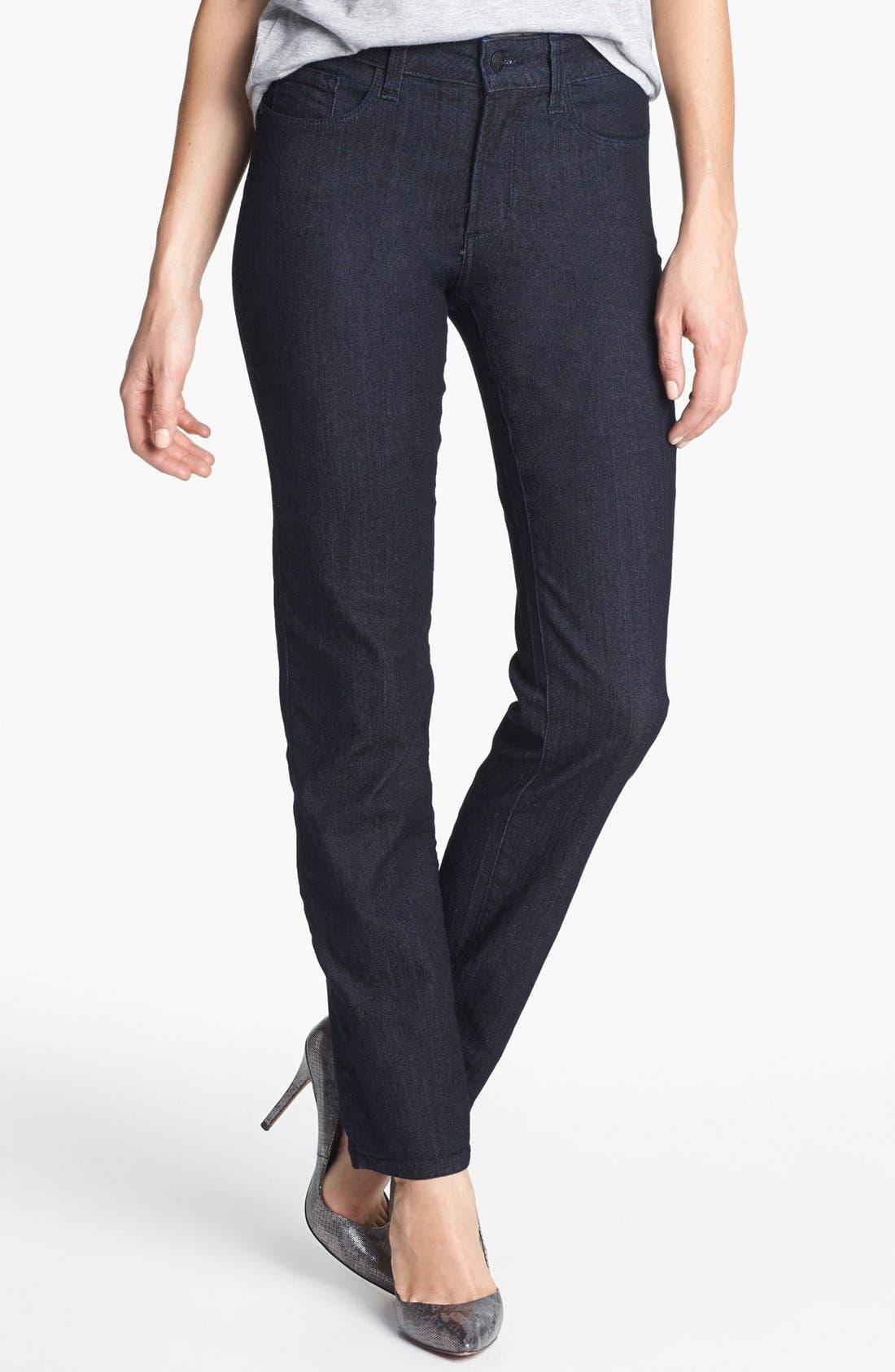 Alternate Image 1 Selected - NYDJ 'Sheri' Stretch Skinny Jeans (Petite)