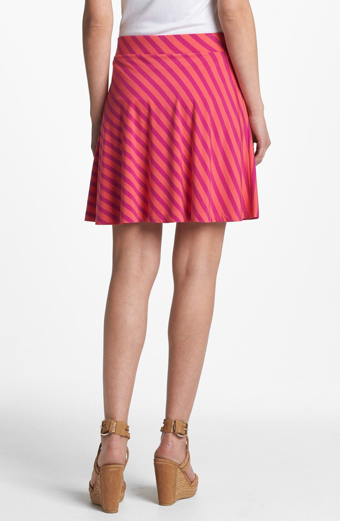 Alternate Image 2  - Caslon® Knit Circle Skirt (Petite)