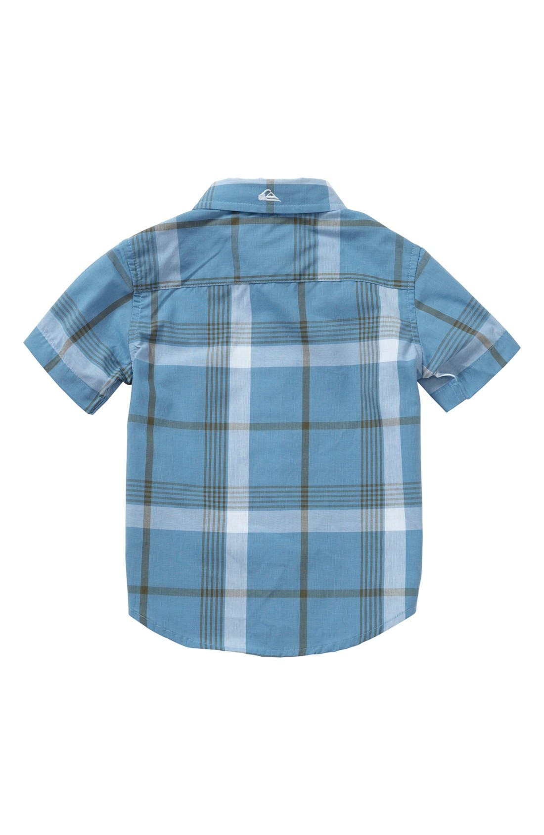 Alternate Image 2  - Quiksilver 'Jumbo Gumbo' Plaid Shirt (Baby Boys)