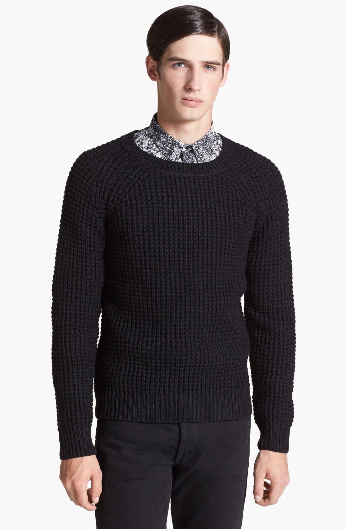 Main Image - sandro 'Fear' Merino Wool Sweater