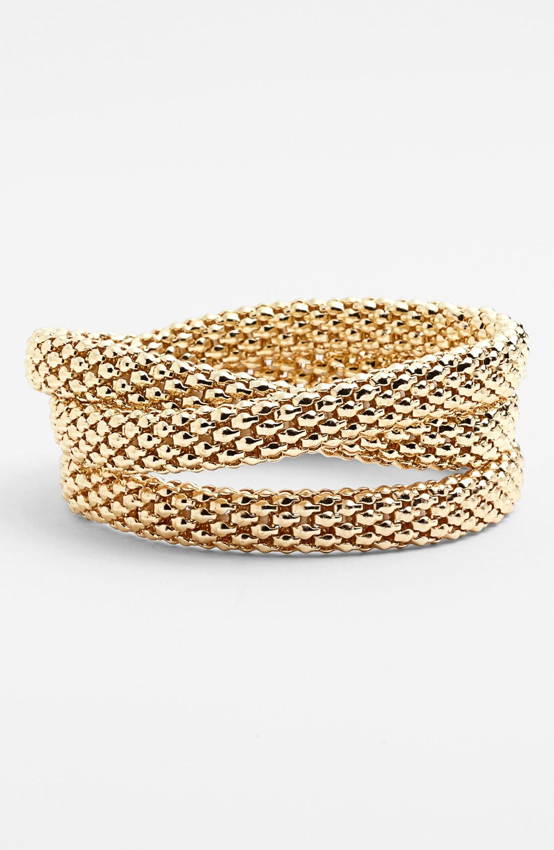 Alternate Image 1 Selected - Robert Rose Mesh Layering Bracelet
