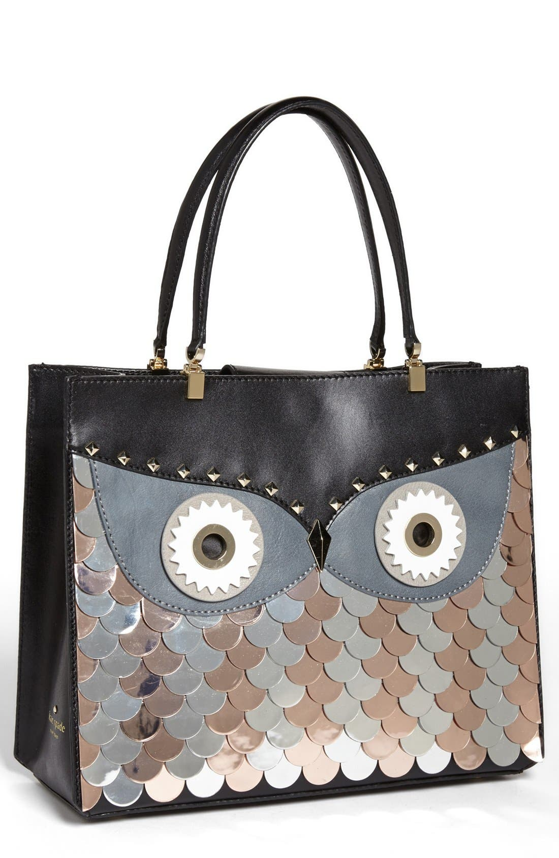 Main Image - kate spade new york 'wise owl quinn' tote, medium