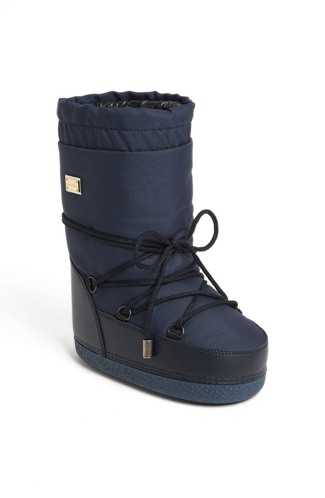 Alternate Image 1 Selected - Dolce&Gabbana Snow Boots (Toddler, Little Kid & Big Kid)