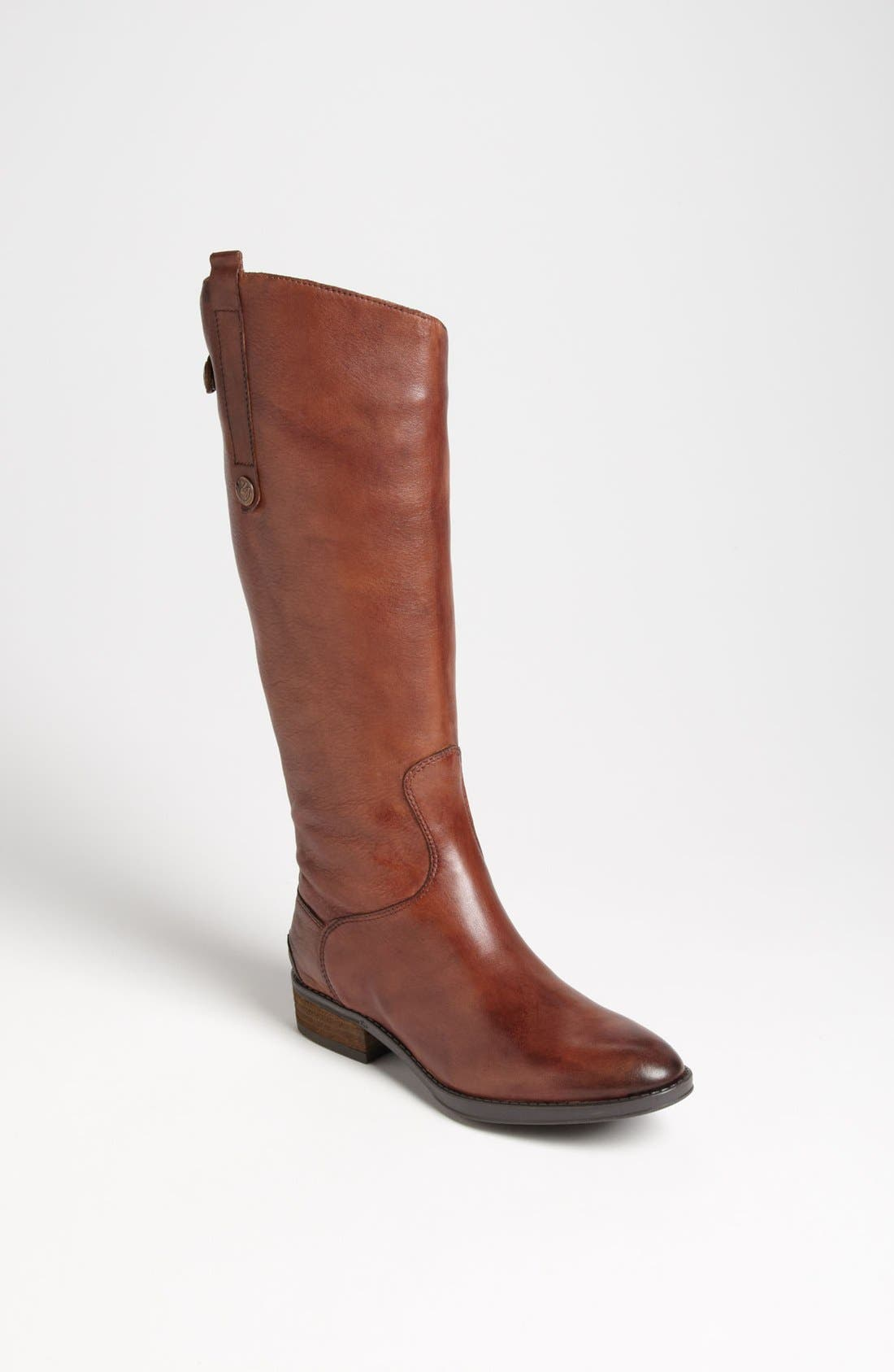 'Penny' Boot,                             Main thumbnail 1, color,                             Whiskey Wide Calf