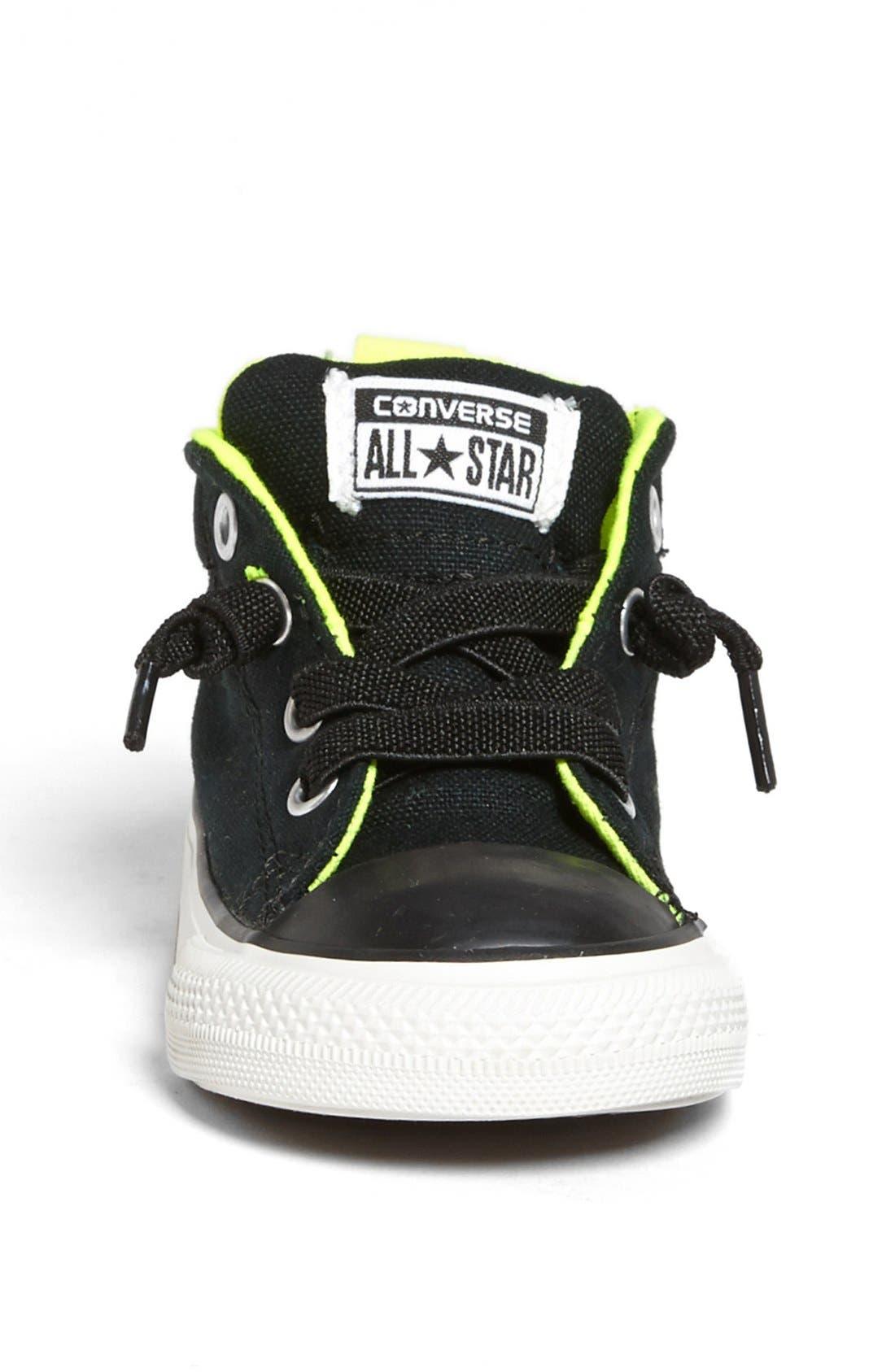 Alternate Image 3  - Converse Chuck Taylor® 'Street Mid Cab' Sneaker (Walker & Toddler)