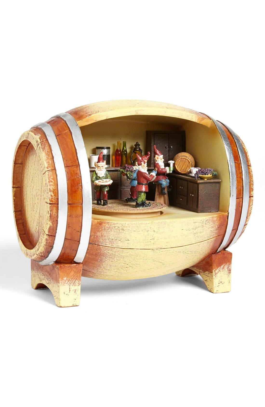 Alternate Image 1 Selected - Roman 'Wine Barrel' Music Box