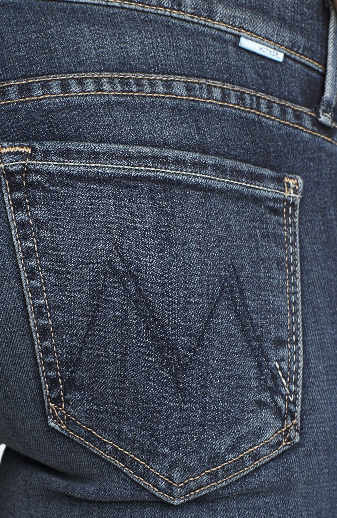 Alternate Image 3  - MOTHER 'Rascal' Straight Leg Jeans (Here Kitty Kitty)