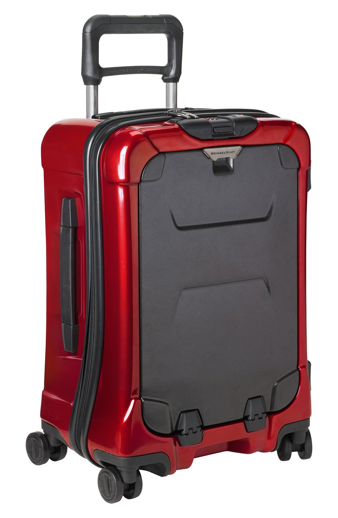 'Torq International' Hard Shell Spinner Carry-On,                             Main thumbnail 1, color,                             Ruby