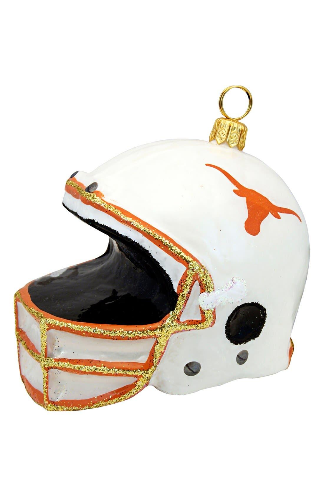 Main Image - Joy to the World Collectibles 'Collegiate Helmet - University of Texas' Ornament