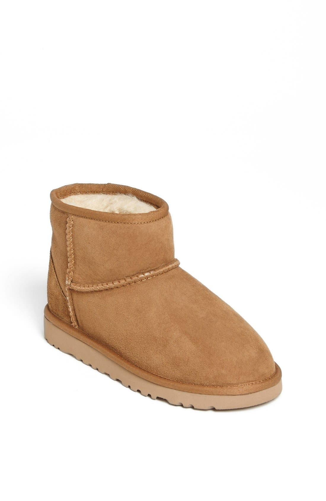 Alternate Image 1 Selected - UGG® Australia 'Classic Mini' Boot (Little Kid & Big Kid)
