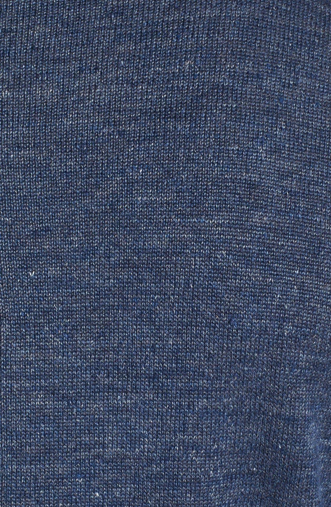 Alternate Image 3  - John Varvatos Star USA Linen Blend Crewneck Sweater