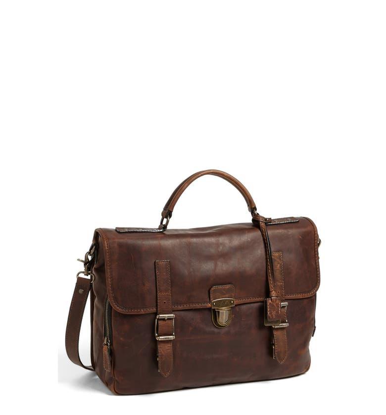 Frye Logan Leather Buckle Briefcase Nordstrom