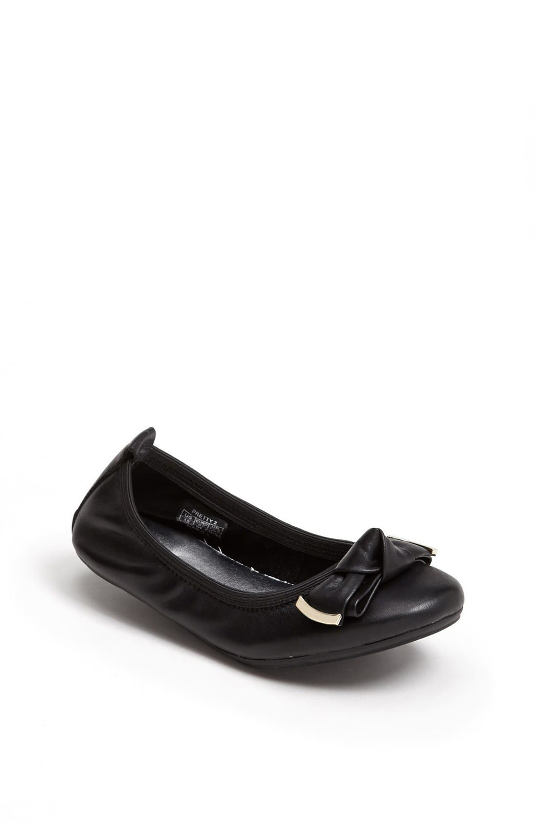 Alternate Image 1 Selected - Cole Haan 'Pretty 2' Ballerina Flat (Little Kid & Big Kid)