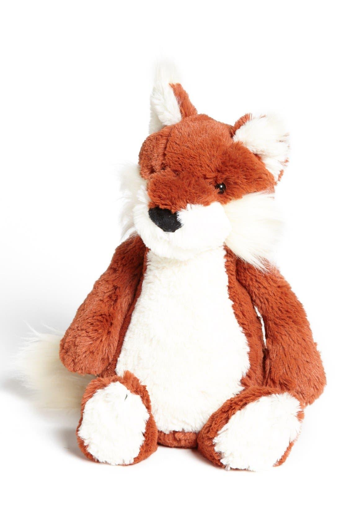 Alternate Image 1 Selected - Jellycat 'Bashful Fox' Stuffed Animal