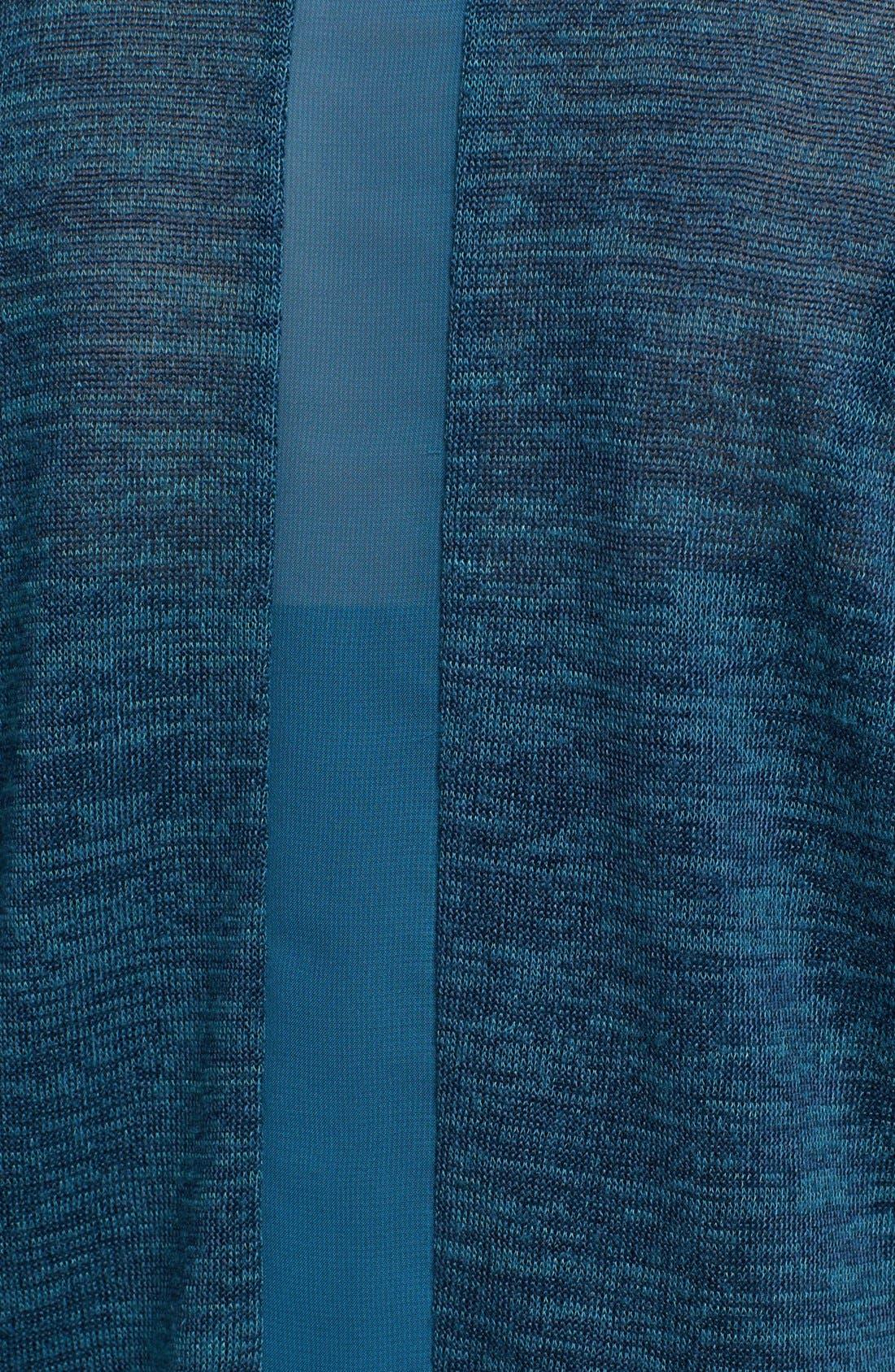 Alternate Image 3  - Pleione Woven Inset Dolman Sleeve Tee