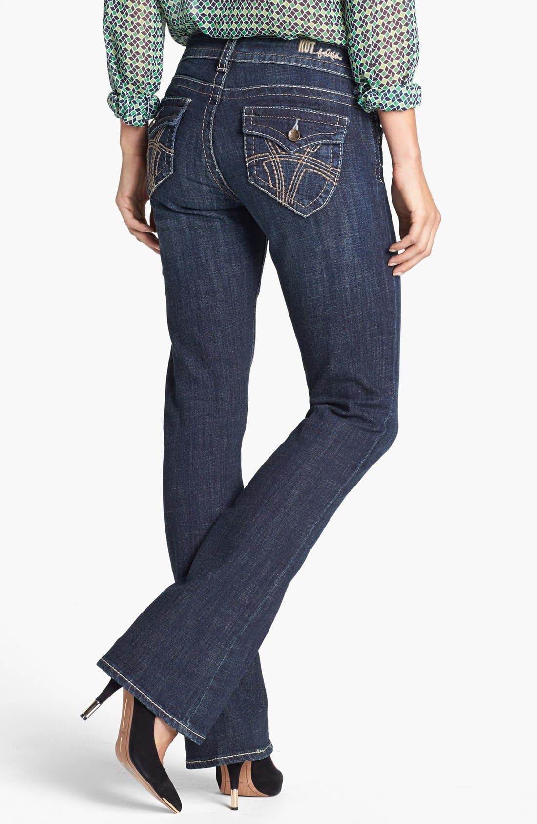 Alternate Image 2  - KUT from the Kloth 'Natalie' Bootcut Jeans (Regular & Tall) (Care)