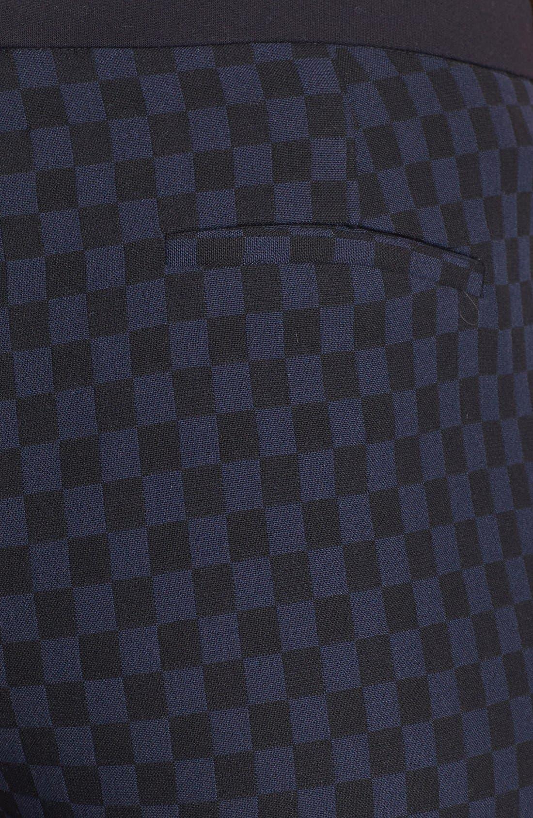 Alternate Image 3  - Halogen® 'Quinn' Jacquard Skinny Ankle Pants