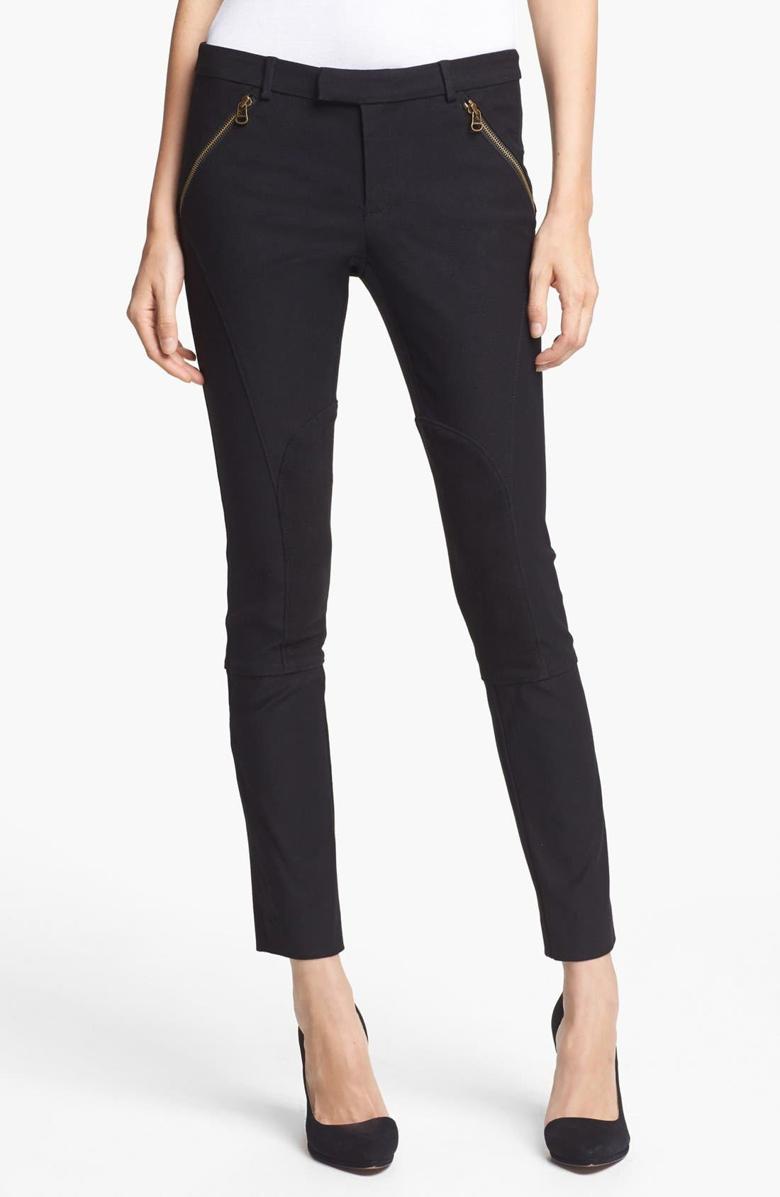 Alternate Image 1 Selected - Rachel Zoe 'Julietta' Crop Riding Pants