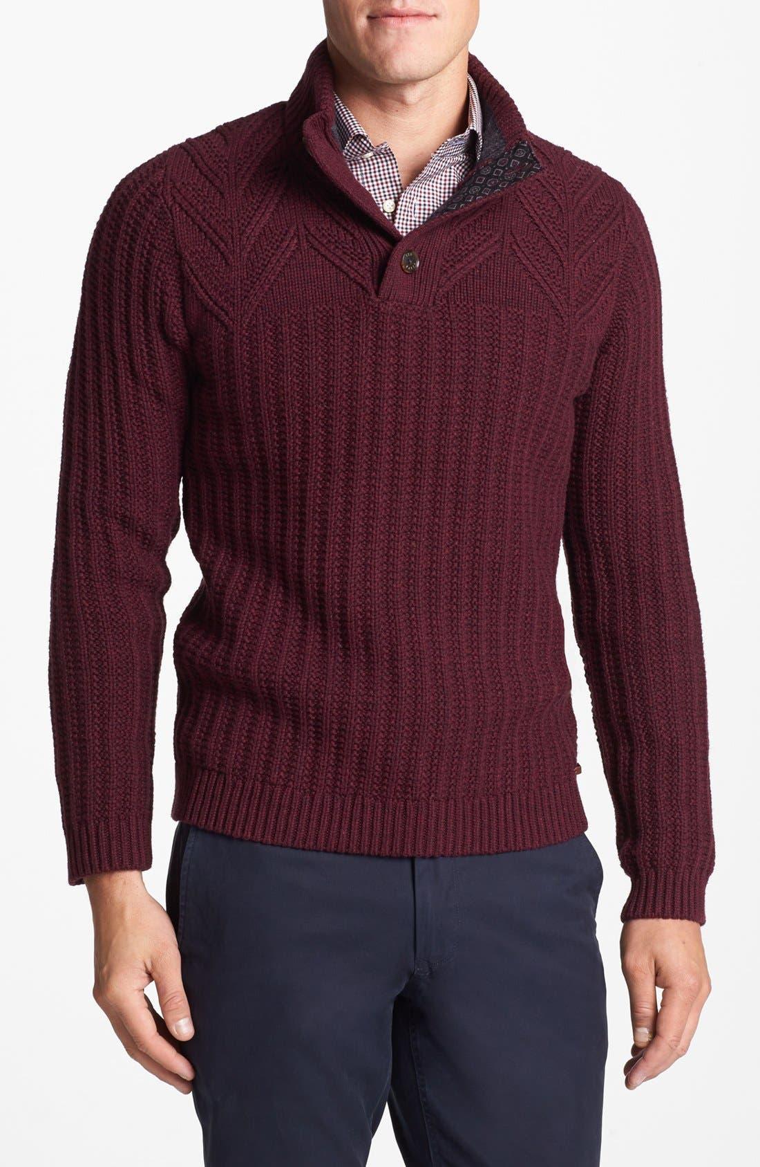 Alternate Image 1 Selected - Ted Baker London 'Glaston' Sweater