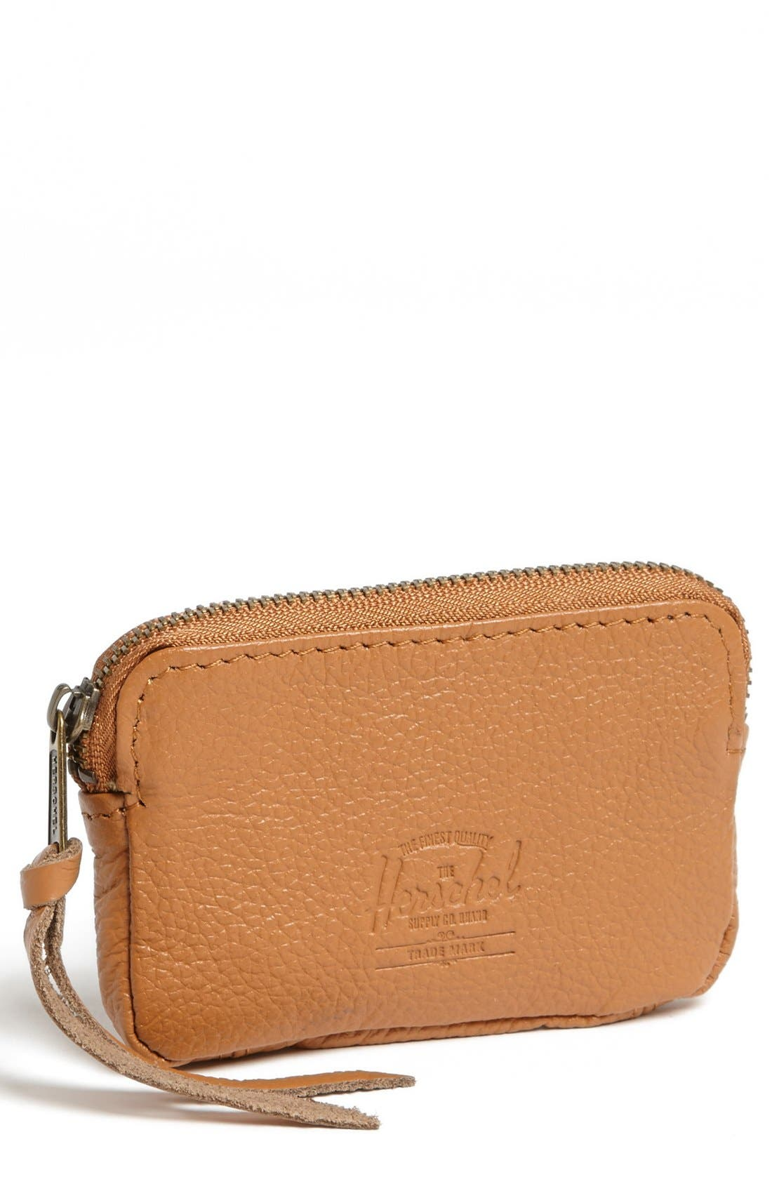 Alternate Image 1 Selected - Herschel Supply Co. 'Oxford' Leather Pouch Wallet