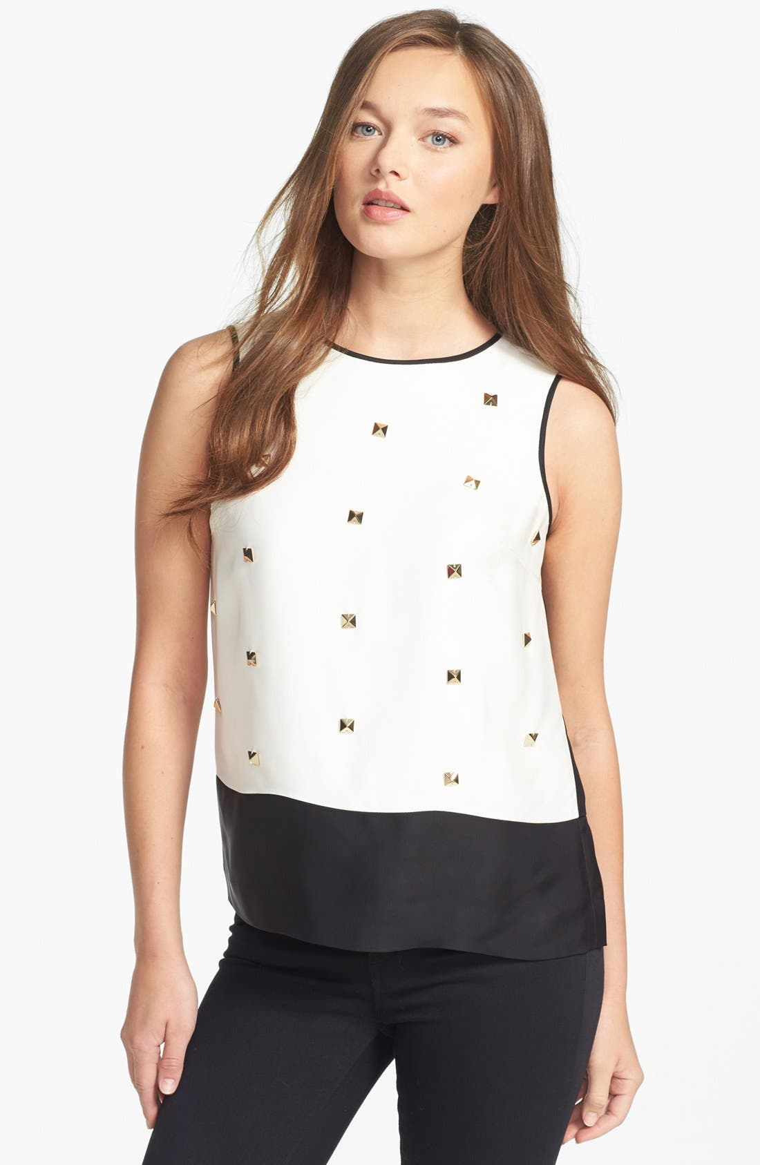 Alternate Image 1 Selected - kate spade new york 'rosie' studded top