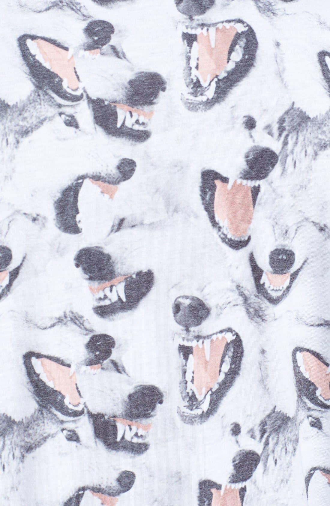 Alternate Image 3  - Topman Canine Print T-Shirt