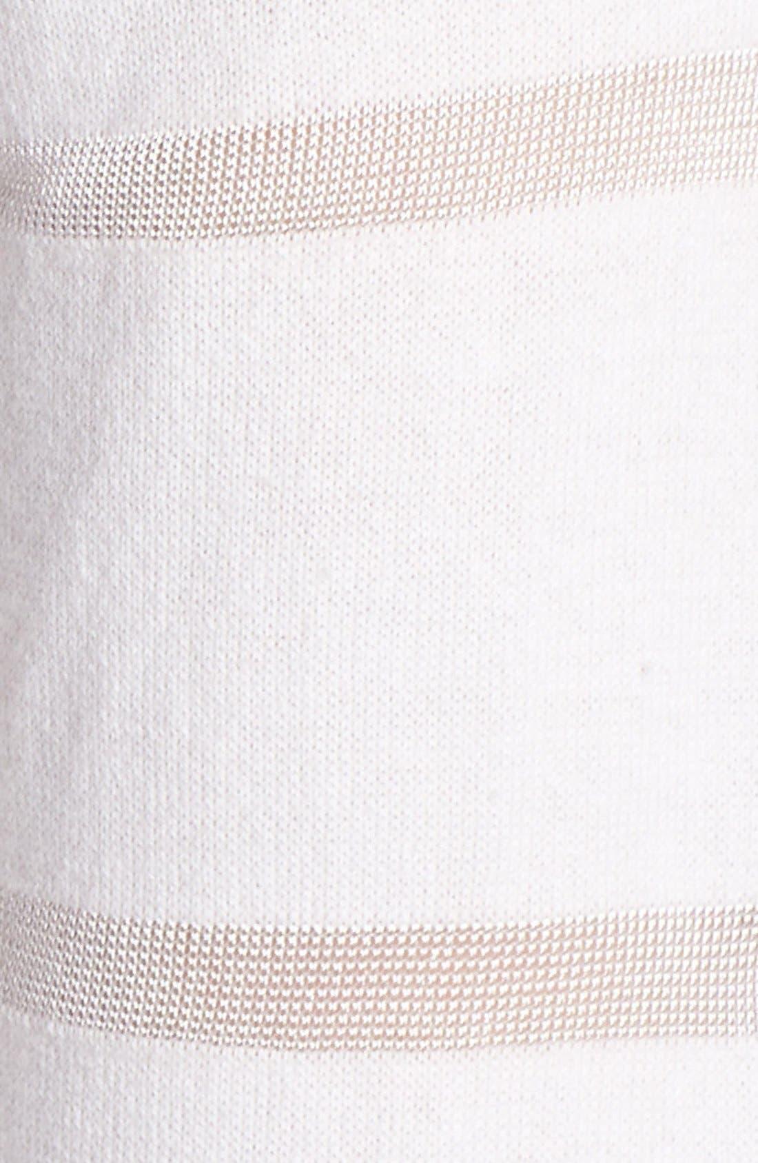 Alternate Image 3  - Vince Camuto Illusion Stripe Sweater (Regular & Petite)