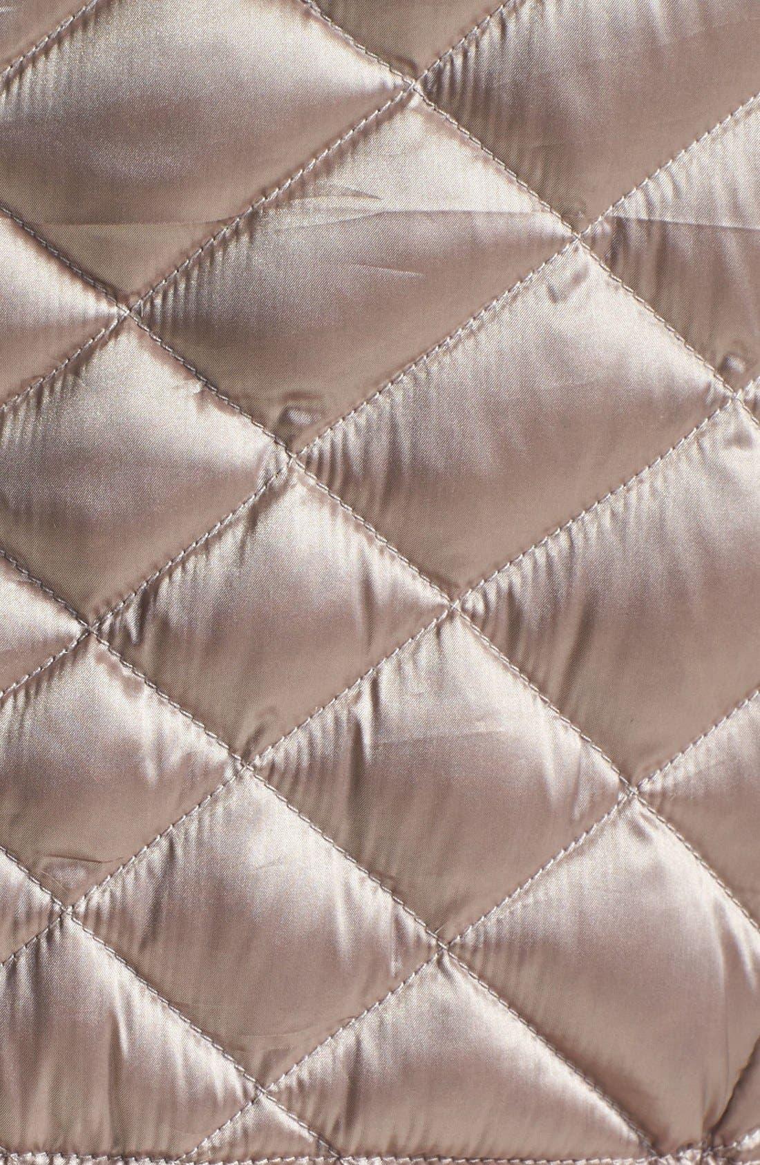 Alternate Image 3  - Bernardo Hooded Packable Goose Down Vest (Regular & Petite)