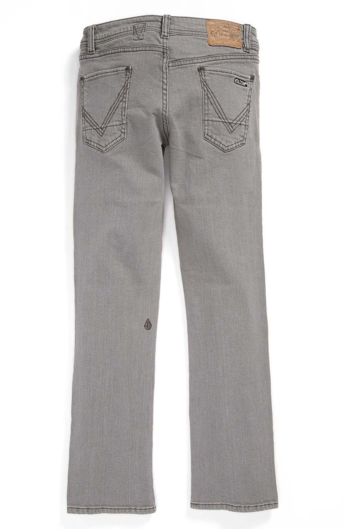 Alternate Image 1 Selected - Volcom 'Vorta' Jeans (Big Boys)