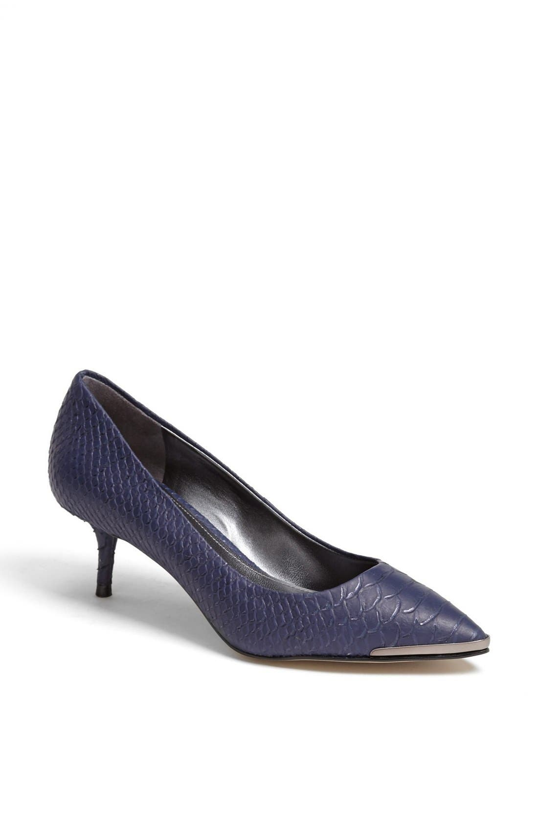 Alternate Image 1 Selected - Enzo Angiolini 'Graysn' Embossed Leather Pump