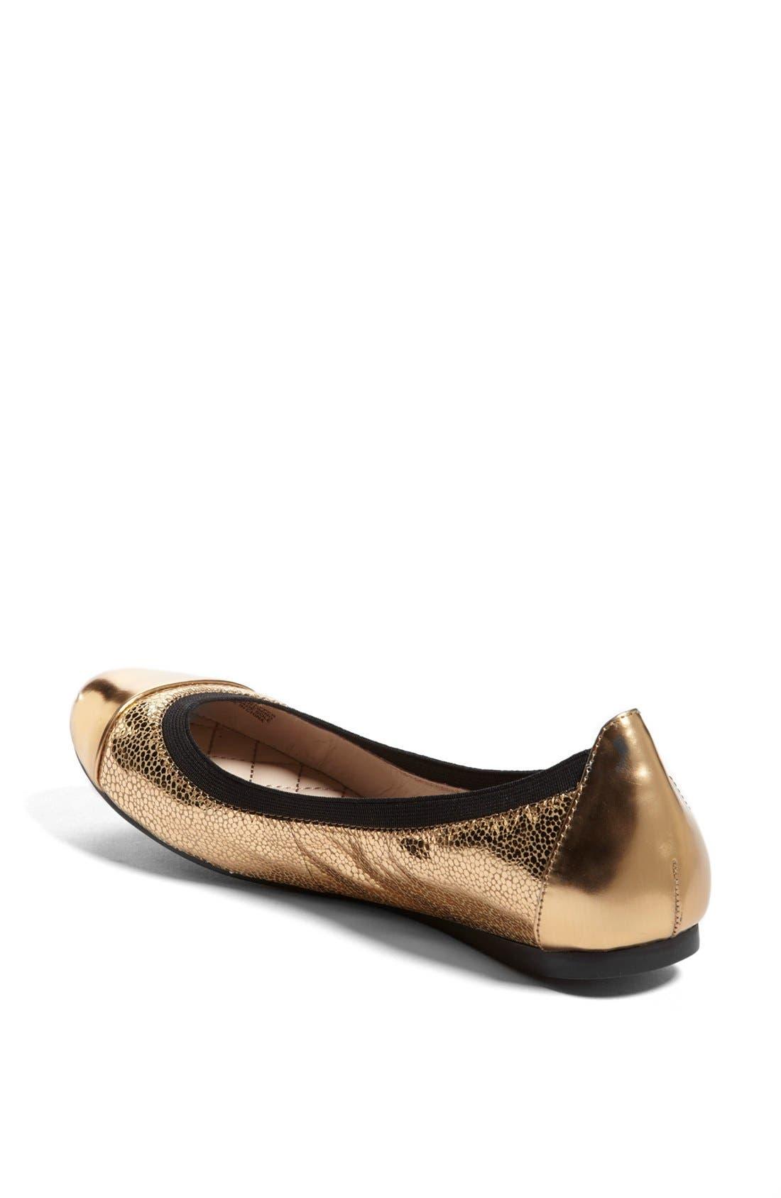 Alternate Image 2  - Vince Camuto 'Elisee' Leather Ballet Flat