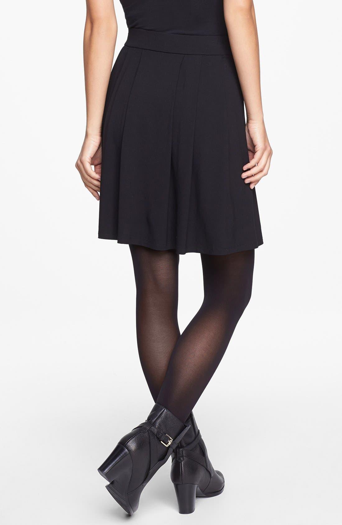 Alternate Image 2  - Eileen Fisher Pleated Skirt (Regular & Petite)