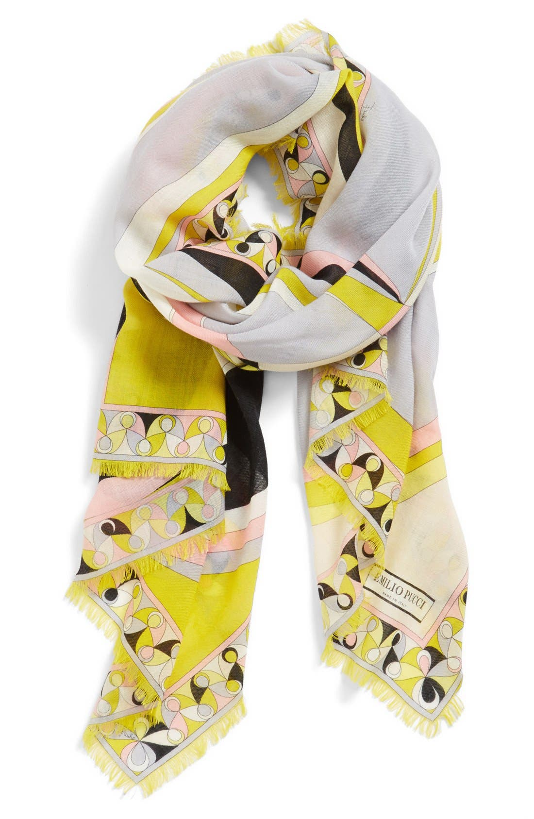 Alternate Image 1 Selected - Emilio Pucci 'Otto' Wool Scarf