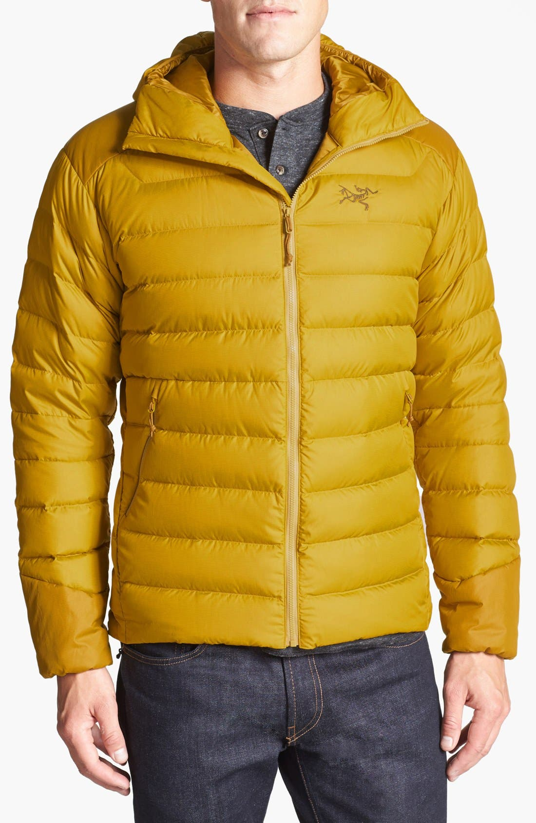 Alternate Image 1 Selected - Arc'teryx 'Thorium AR' Athletic Fit Hooded Down Jacket