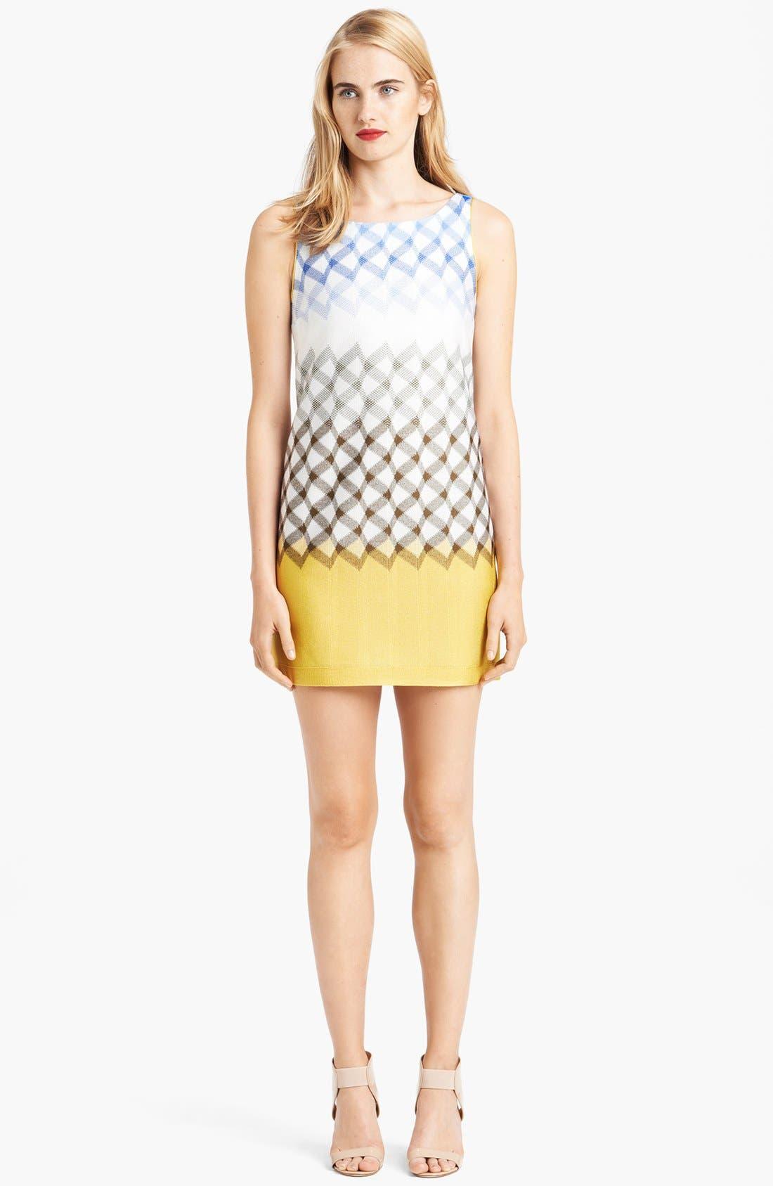 Main Image - Missoni Boatneck Geometric Dégradé Dress