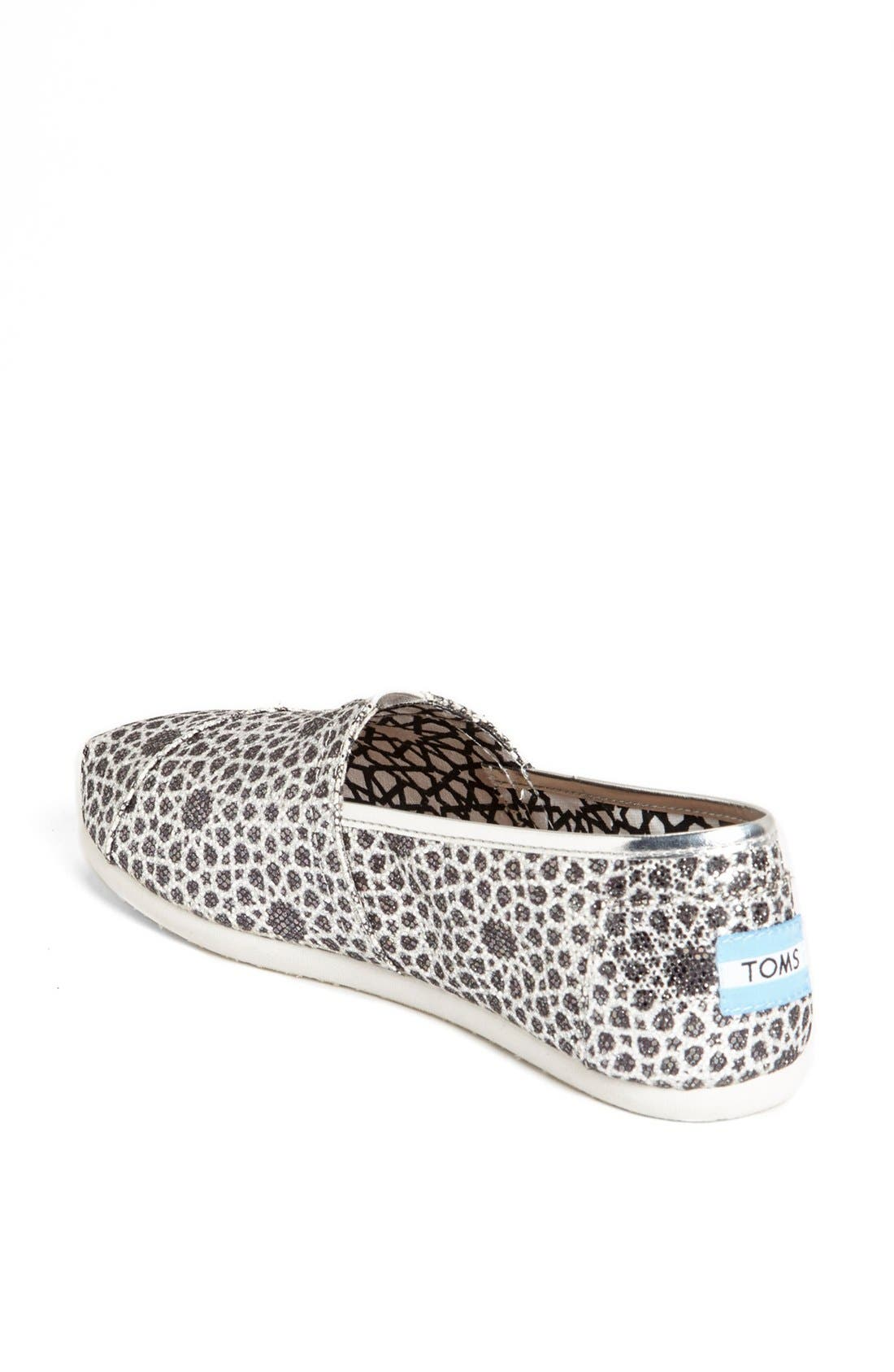 Alternate Image 2  - TOMS 'Seasonal Classic - Moroccan Glitter' Slip-On (Women)