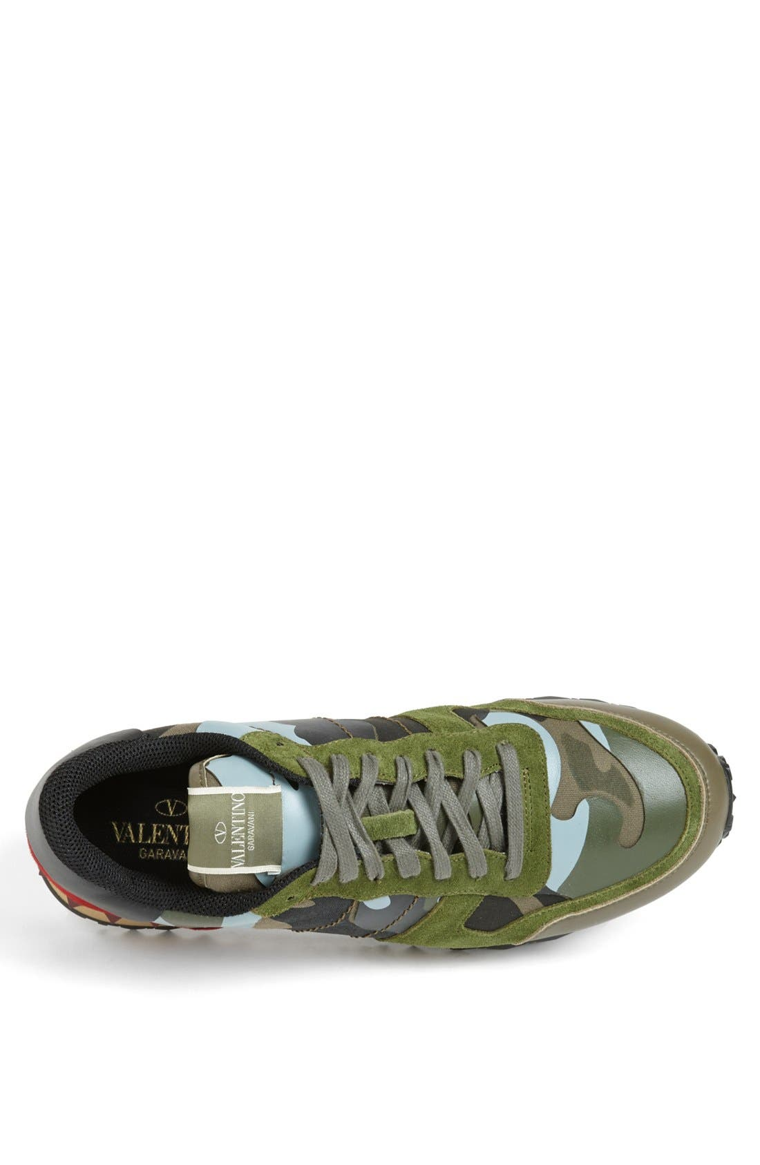 Camouflage Sneaker,                             Alternate thumbnail 3, color,                             Army Green