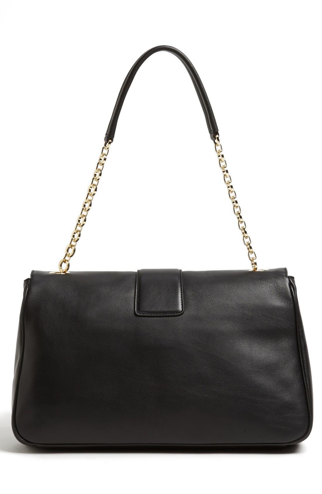 Alternate Image 4  - Salvatore Ferragamo 'Paula' Leather Shoulder Bag