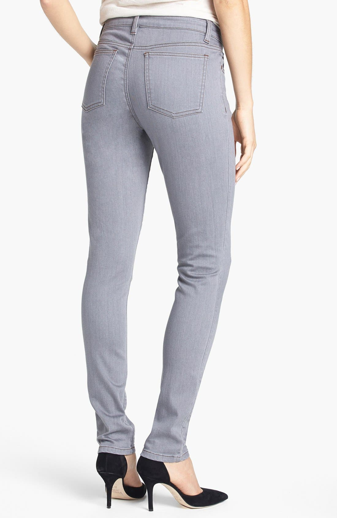 Alternate Image 2  - Eileen Fisher Skinny Jeans (Regular & Petite)