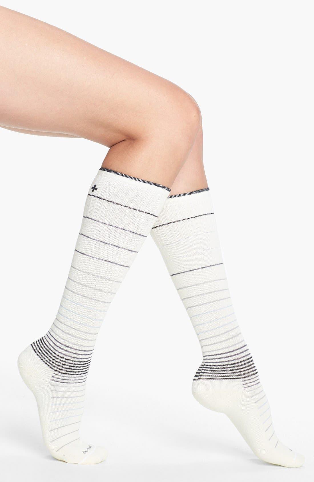 Alternate Image 1 Selected - Sockwell Goodhew - Circulator Compression Socks